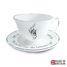 Load image into Gallery viewer, Rabbit Tea Cup and Saucer.