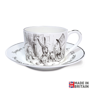 Tea Party Sterling Cup & Saucer