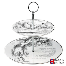 Load image into Gallery viewer, Mad Hatter Tea Party Cake Stand