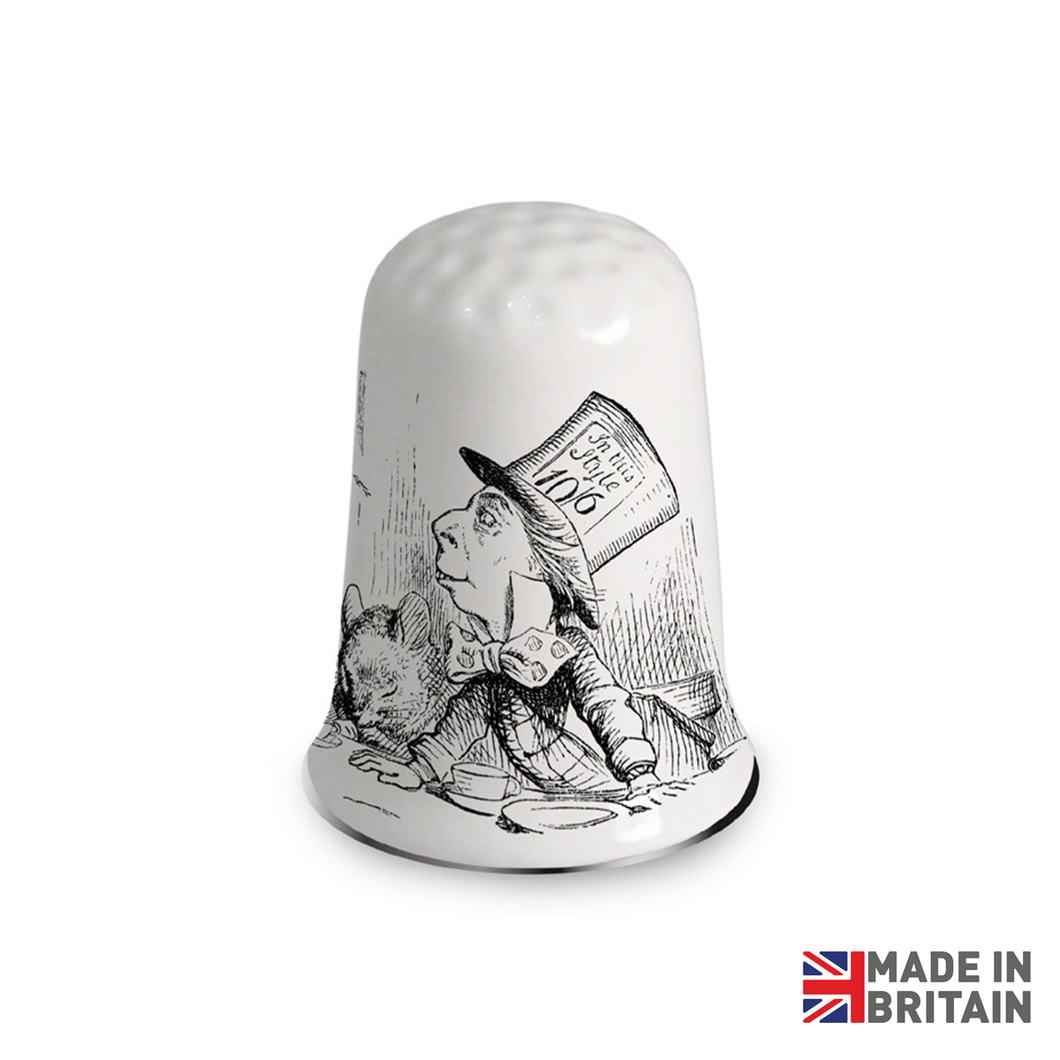 Mad Hatters Tea Party Collectors Thimble