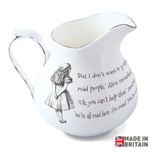 Load image into Gallery viewer, Alice & Cheshire Cat Milk Jug