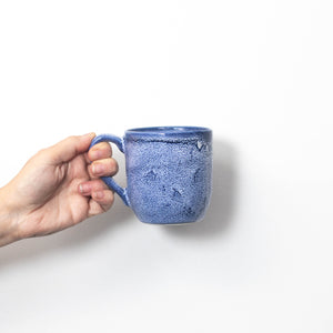 Blue Speckled Mug 410ml/41cl - 1 case of 6