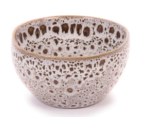 Stoneware Grey Speckled Food Cup 9x5cm - 1 case of 12
