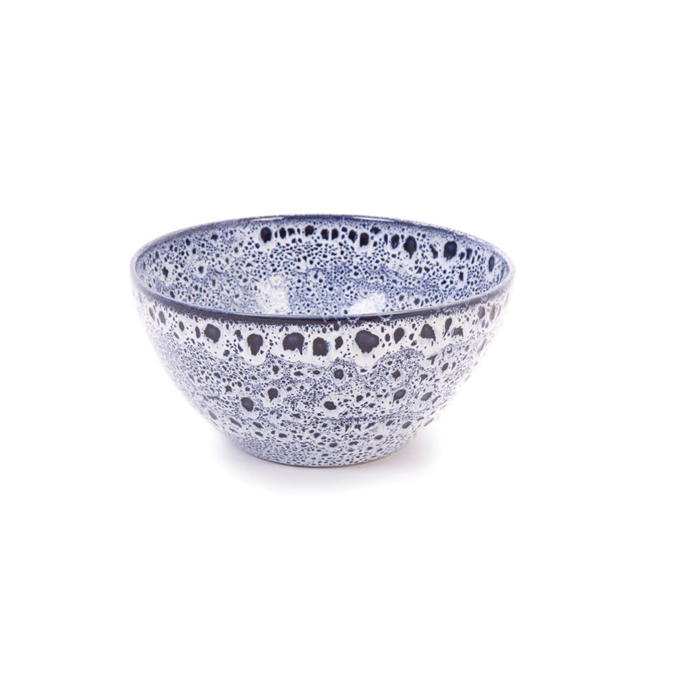 Sapphire Blue Speckled Display Bowl 20.5cm Dia