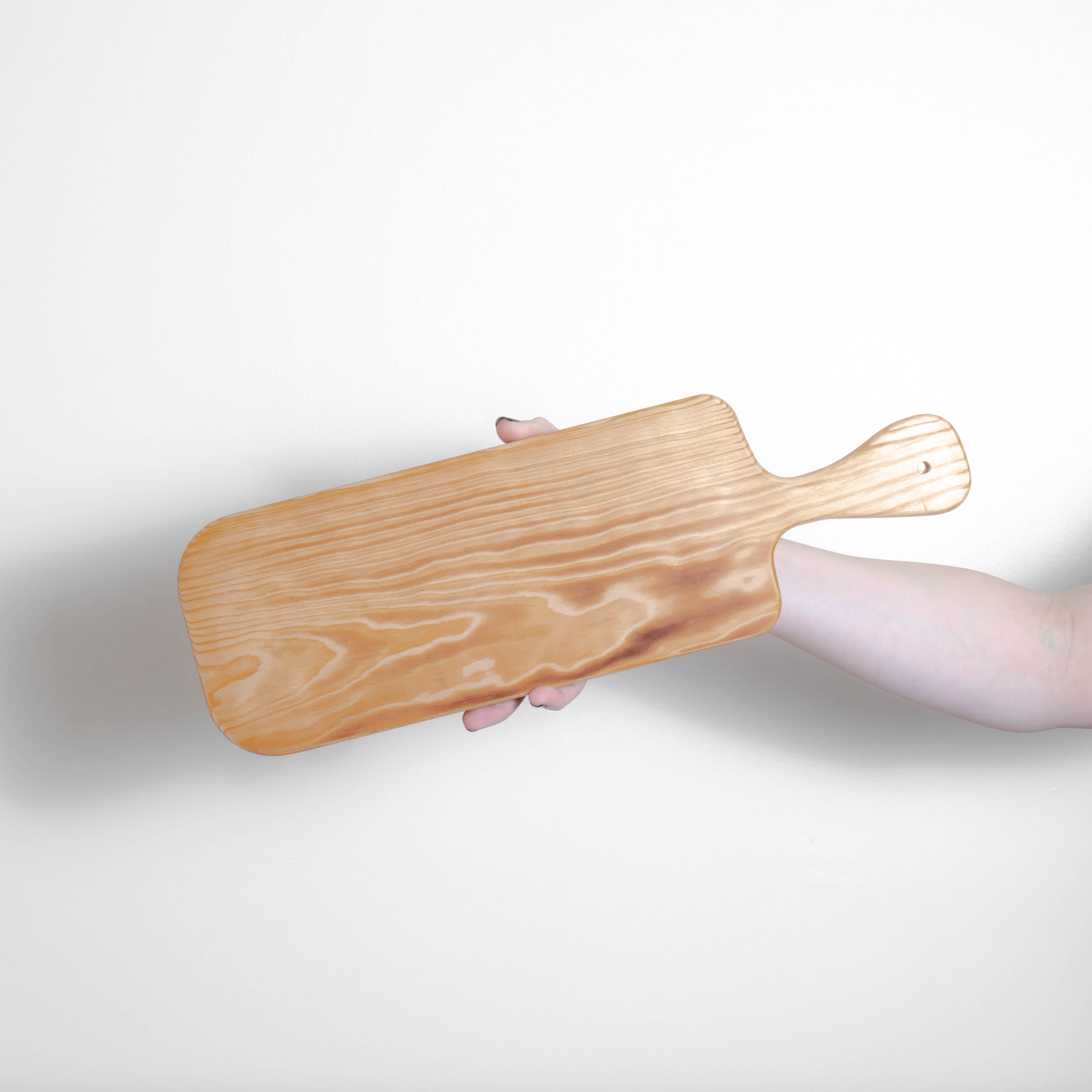 Antipasti/Food Wooden Serving Plank - Individual Board - Pine - 45 x 14cm