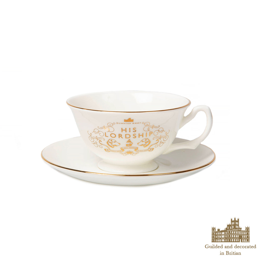 His Lordship Fine Bone China Cup & Saucer