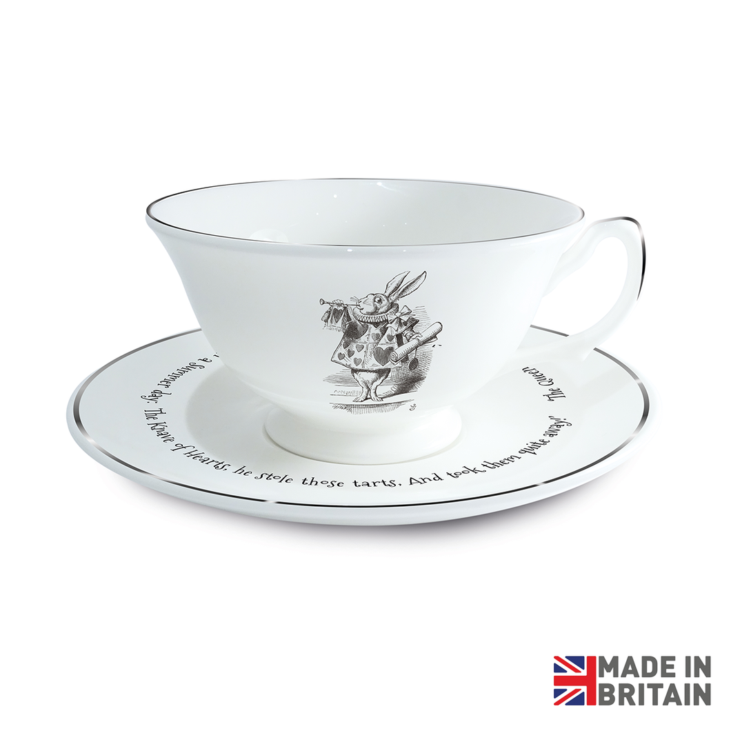 Queen of Hearts Cup & Saucer