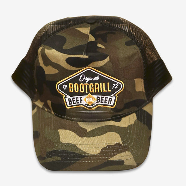 Casquette Bootgrill Camouflage