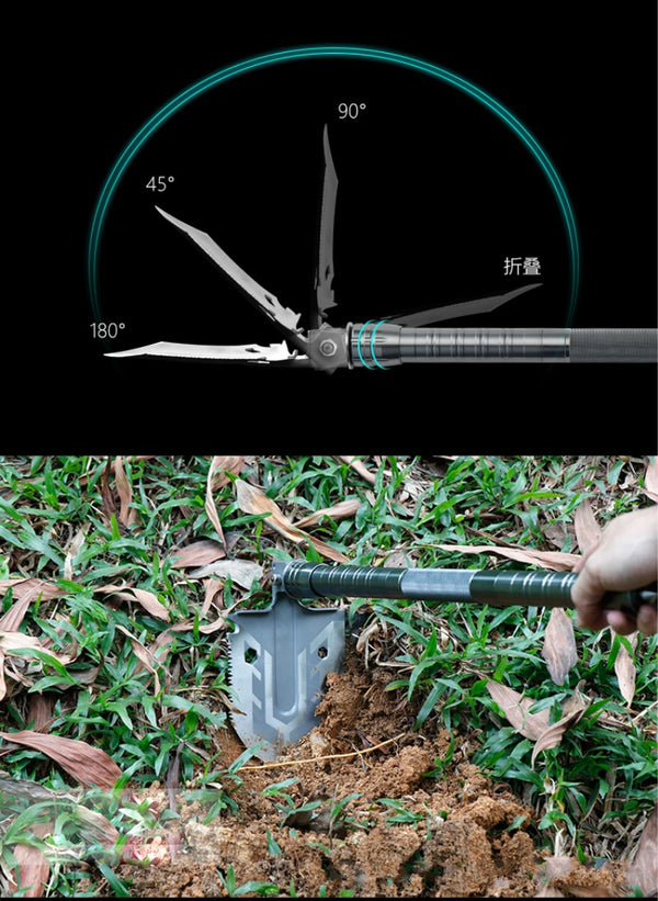Outdoor Multi-purpose Shovel - ikeeki.com