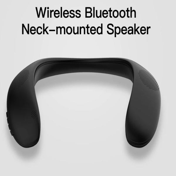 Neck Mounted Bluetooth Speaker - ikeeki.com