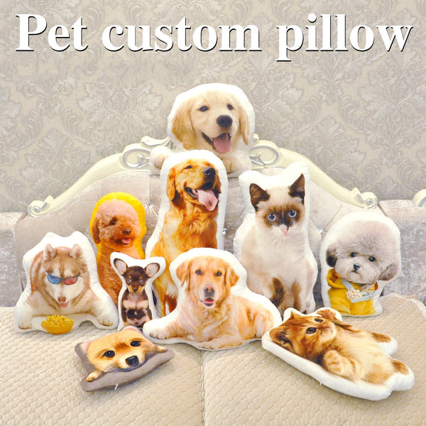 Pet Custom Pillow - ikeeki.com
