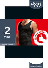 Afbeelding in Gallery-weergave laden, Sloggi Men 24/7 Vest duopack - Best price
