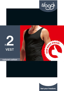 Sloggi Men 24/7 Vest duopack - Best price