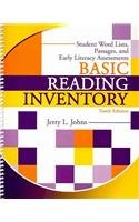 Basic Reading Inventory : Student Word Lists, Passages, and Early Literacy Assessments, 10th Edition