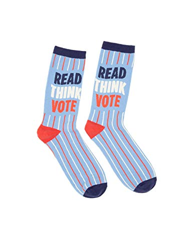 Out of Print Read Think Vote Socks Large