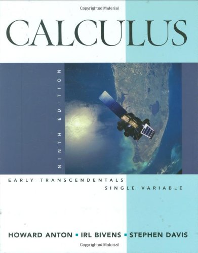 Calculus: Early Transcendentals, Single Variable