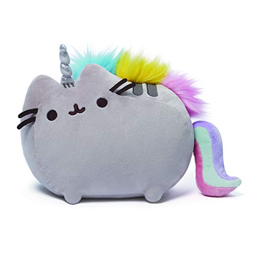 GUND Pusheenicorn Plush Stuffed Animal Rainbow Cat Unicorn, 13""