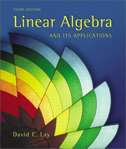 Linear Algebra and Its Applications (3rd Edition)