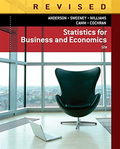 Statistics for Business & Economics, Revised