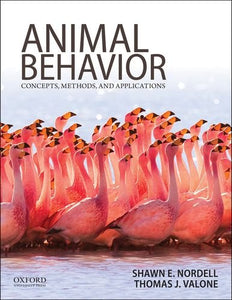 Animal Behavior: Concepts, Methods, and Applications