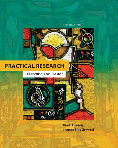 Practical Research: Planning and Design (10th Edition)