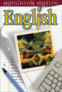 Houghton Mifflin English: Student Edition Hardcover Level  7 2001