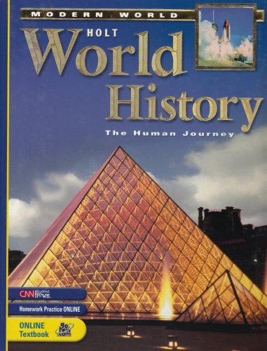 Holt World History: Human Journey-Modern World: Student Edition 2005