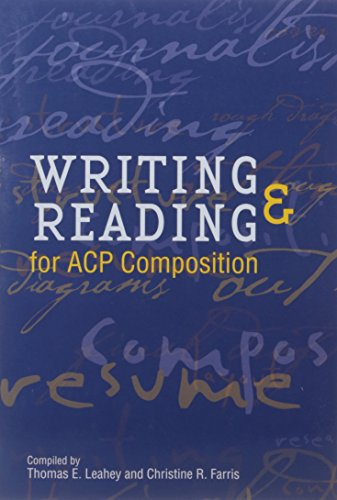 Writing & Reading for ACP Composition