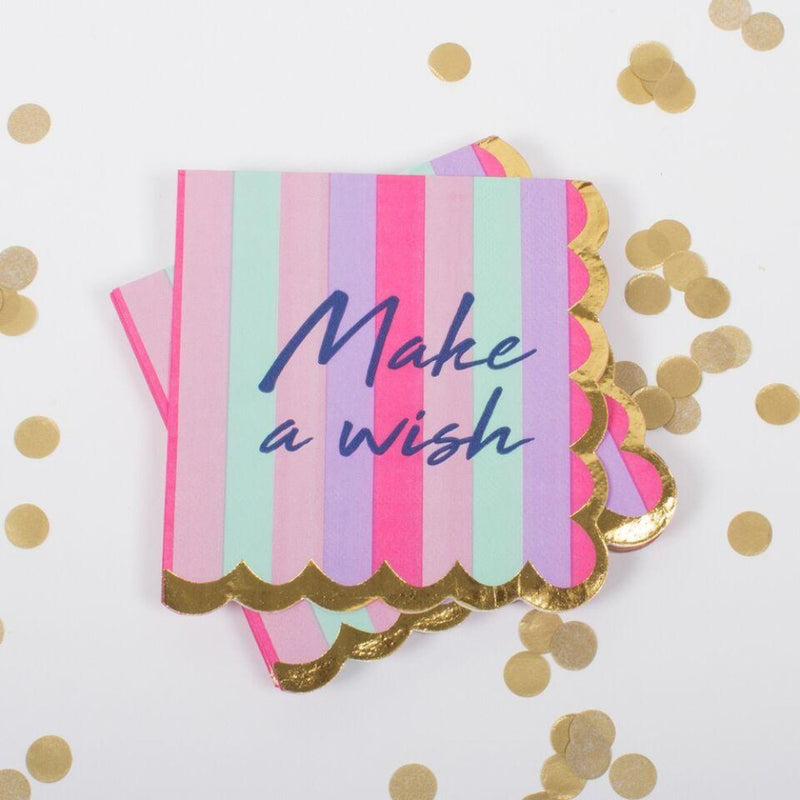 Make A Wish Napkins