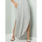 Vineyard Stripe Maxi Dress