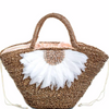 Bali Feather Tote