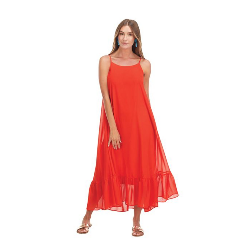 Poppy Fiesta Maxi Dress