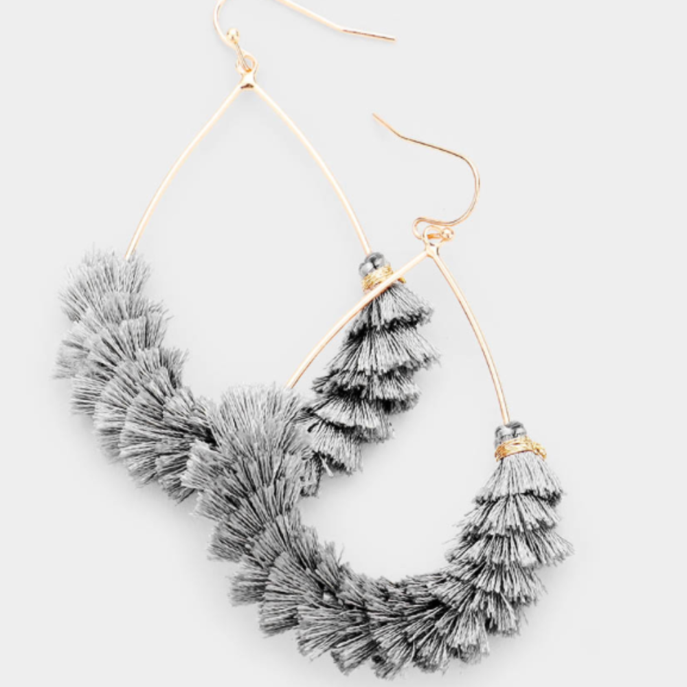 Korra Fringe Earrings