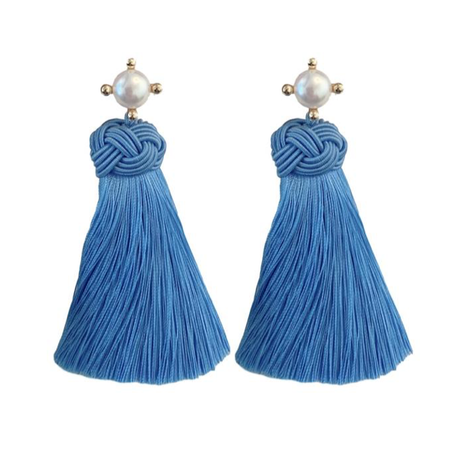 Tassels Pearl Earrings