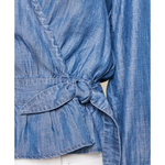 Houston Chambray Top