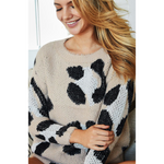 Grace Leopard Sweater