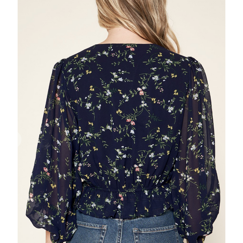 Mini Flower Blouse