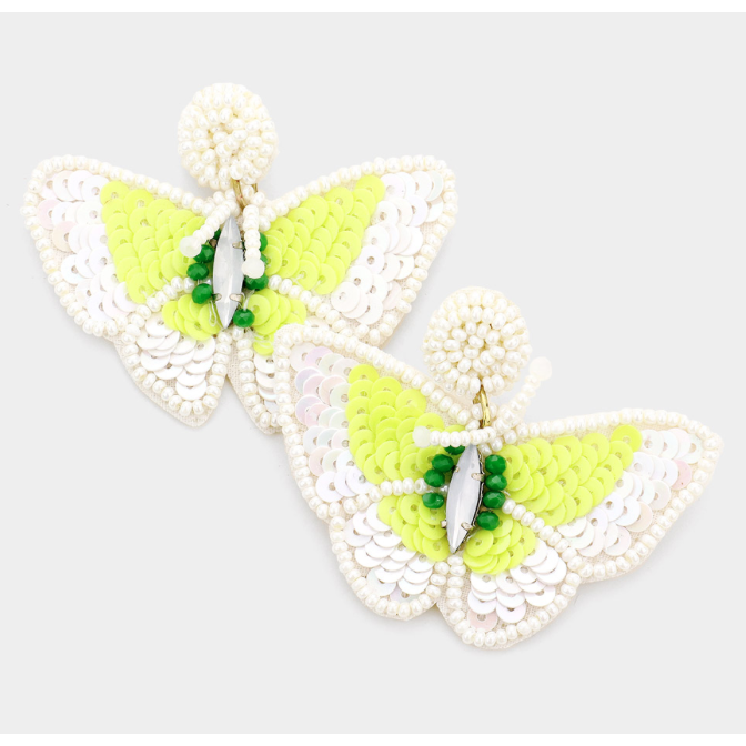 Bright Butterly Earrings