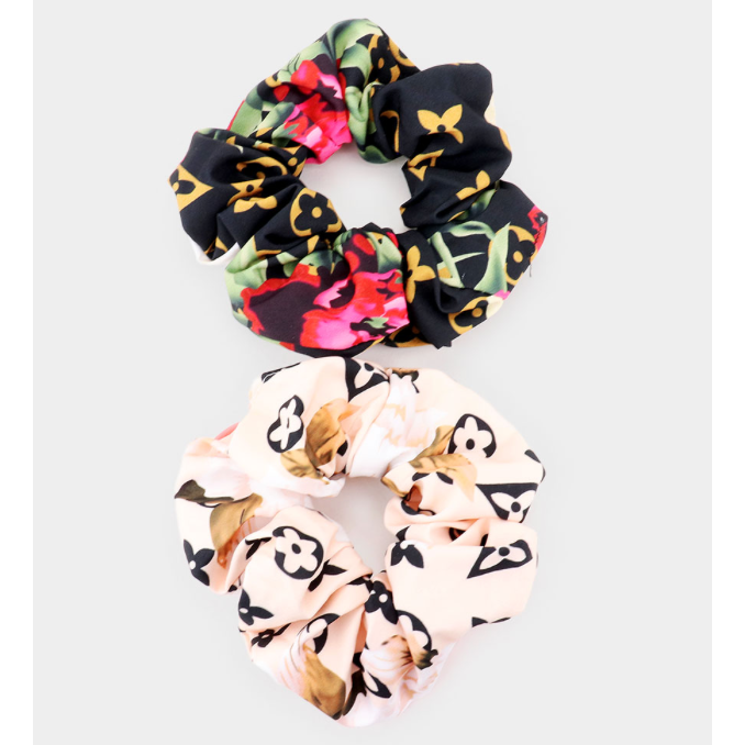 Lux Scrunchies Set