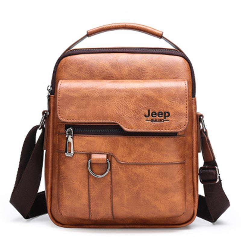 Promotion 50% OFF - Men's Casual Leather Business Travel Shoulder Bag