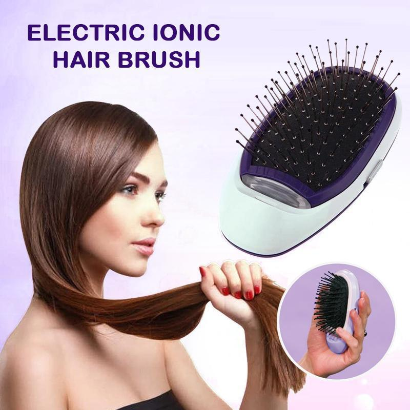 Electric Ionic Hair Brush (Free Shipping)