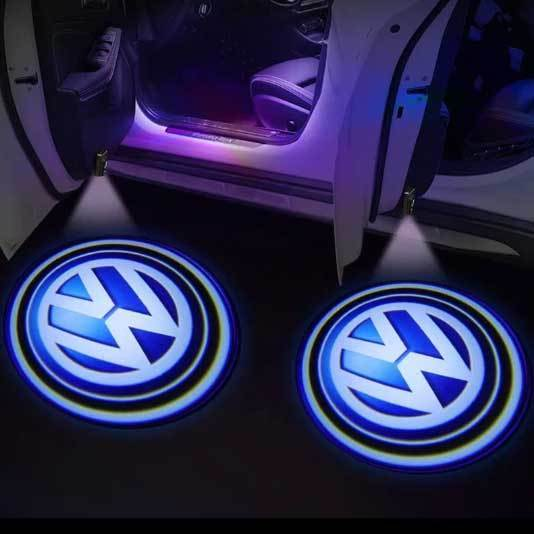 Car Door Paste Projector Light