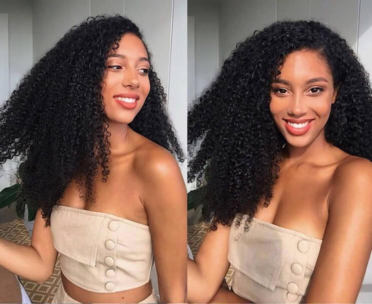 16-20 Inch Kinky Deep Curly Clip-In Set