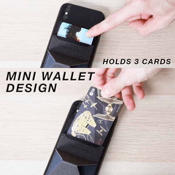 2 in 1 Mini Wallet Phone Stand - Newbiesss