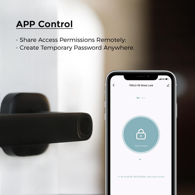R2/FIDO Smart Fingerprint Lock