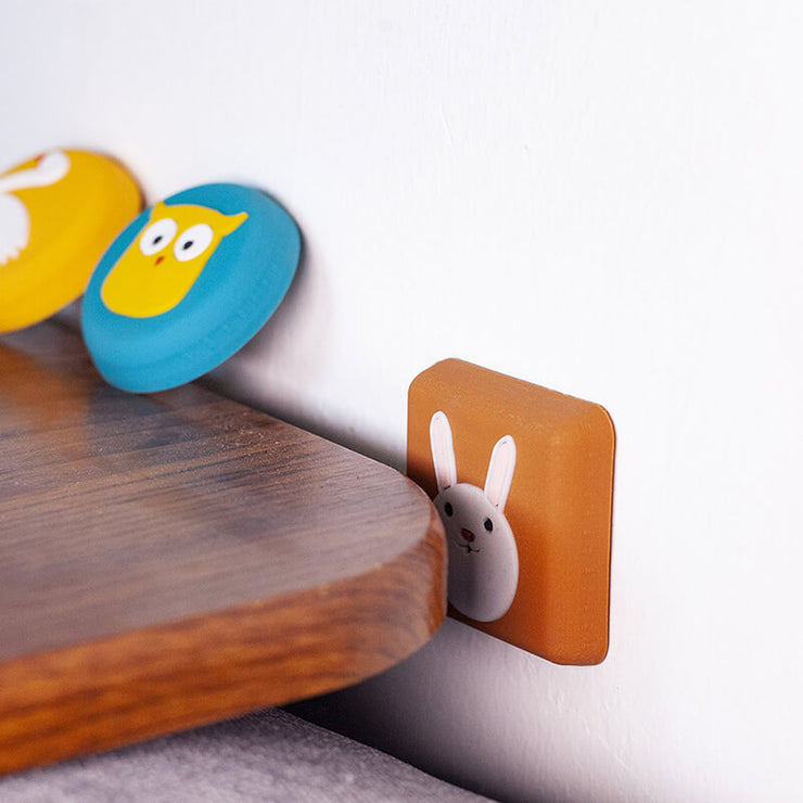 Cartoon Crash cushion:Protect your door handles and walls from impact