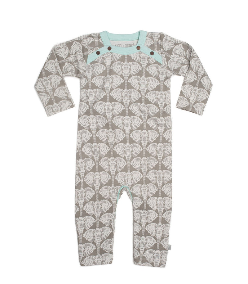 Coverall Safari Elephant
