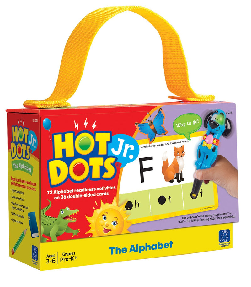 Hot Dots Jr. Alphabet