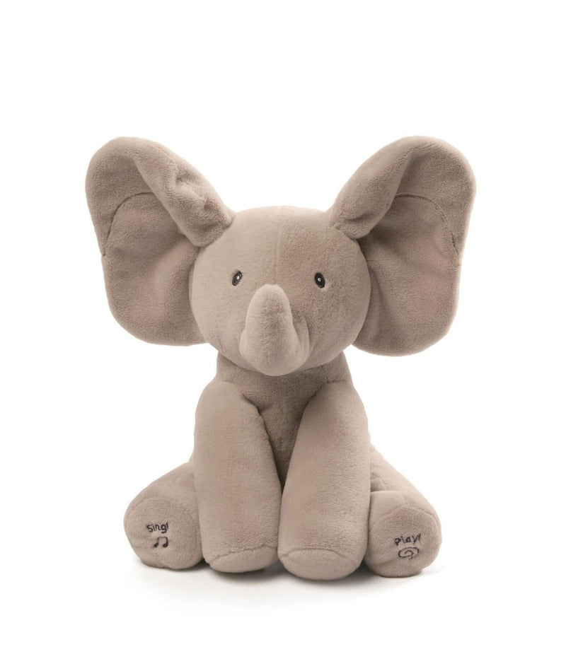 Baby Animated Flappy The Elephant Push Toy
