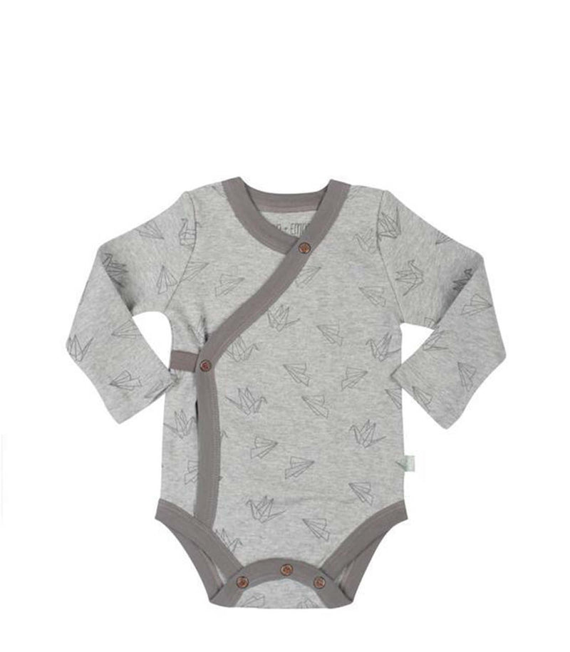 Long Sleeved Bodysuit Origami